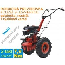 Malotraktor 2-takt, motor JIKOV 1453 + prevodovka DSK 317, spojka 80mm / VARI systém