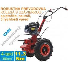 Malotraktor 4-takt, motor HONDA GSV 190 + prevodovka DSK 317, spojka 80mm / VARI systém