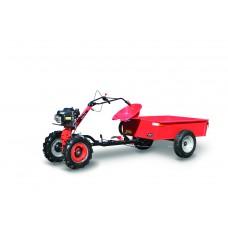 Malotraktor 4-takt a vozík vyklápací MTVO, motor HONDA GSV 190 + prevodovka DSK 317, spojka 80mm / VARI systém