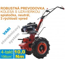 Malotraktor 4-takt, motor VARI XP 200 + prevodovka DSK 317, spojka 80mm / VARI systém