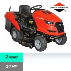 Traktor trávny STARJET UJ 102-24 P2, záber 102cm, B&S profesional 8240 / 24HP - 2 valec