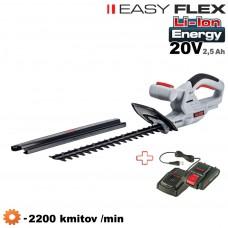 Aku plotostrih HT 2000 / EASY FLEX (20V, 1 akumulátor, nabíjačka)
