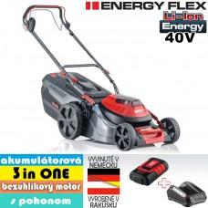 Aku kosačka Moweo 46.0 Li SP, 3 in ONE, s pohonom / ENERGY FLEX (40V, 1 akumulátor 5Ah + nabíjačka)