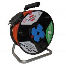 Bubon predlžovací 4z/25m (3G1,5) na 230V, s káblom Bremaxx
