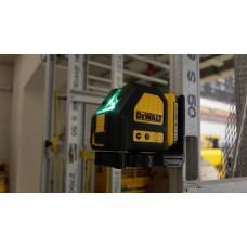 Aku laser DCE088D1G 10.8V - zelený lúč