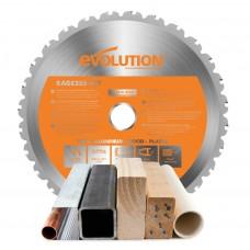 Kotúč pílový EVO 255mm pre RAGE 3, MULTI_funkčný