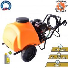Čistič vysokotlakový benzínový GF120, 220bar, 11l/min