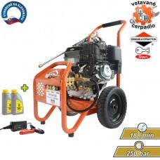 Čistič vysokotlakový benzínový GP3600BD, 250bar, 18 l/min