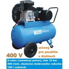 Kompresor olejový 580/10/100, 400V