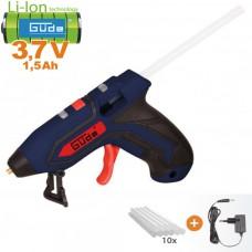 Aku pištoľ tavná 7140-3.7 + tyčinky lepiace (3,7V/ 1,5Ah + nabíjačka, krabica)