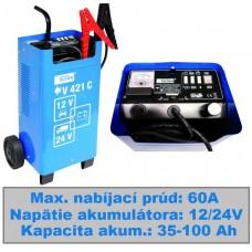 Nabíjač autobatérií + štartér V 421