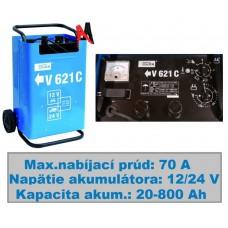 Nabíjač autobatérií + štartér V 621 C