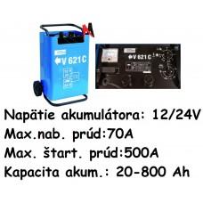 Nabíjač autobatérií so štartérom V 621 C