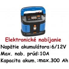 Nabíjač autobatérií GAB 12V/6V-10A-BOOST