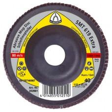 Tanier lamelový 125x22,2 Z 60 / SMT325 - vydutý (oceľ, nerez)