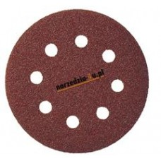 Výsek kruhový Suchý zips 125 mm, K 40 / PS 22 K GLS5/8 dier (drevo, kovy univerzálne, nerez, farba, lak, tmel, plasty)