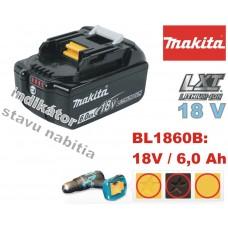_Akumulátor 18V 6,0Ah / BL1860B
