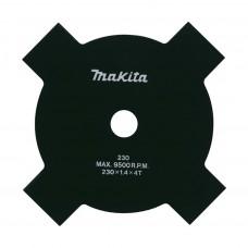 Nôž žací 4-zubový MAKITA DUR365U (230x1,8x25,4mm)