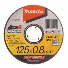 Kotúč rezný 125mm x 0,8 mm na kov