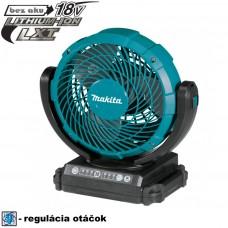 Aku ventilátor DCF102Z (bez akumulátorov, nabíjačky a prepravného kufra)