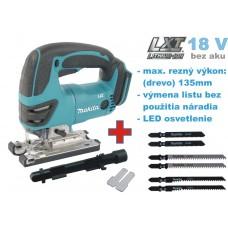 Aku píla priamočiara DJV180Z (18V, bez akumulátorov, nabíjačky a prepravného kufra)