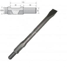 Sekáč upnutie 30mm, plochý 32 x 400 mm (pre HM1304, HM1400, HM1307C, HM1317C)
