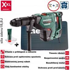 Kladivo kombinované KHEV 11-52 BL / 1500W / 18,8J / 12,4kg (+ Full Service v hodnote 150€ zadarmo do 31.12.2019)