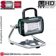 Aku lampa BSA 14,4 - 18V LED (18V, bez akumulátorov, nabíjačky a prepravného kufra)