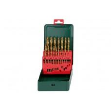 Sada vrtákov 1-10mm x0,5 - 19d. TIN