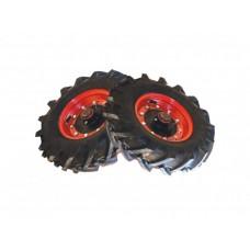 Kolesá pneu pojazdové s uzávierkou, KF systém