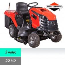 _Traktor trávny CHALLENGE MJ 102-22, záber 102cm, B&S profesional 7220 / 22HP - 2 valec