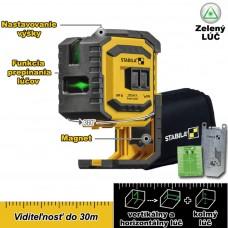 Laser krížový, samonivelačný LAX 300 G (zelený) / do 30m