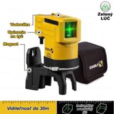 Laser krížový, samonivelačný LAX 50 G (zelený) / do 30m