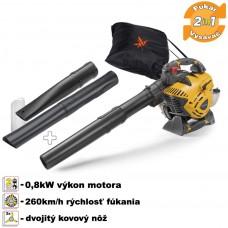 Fukár/vysávač lístia benzínový 2-takt, SBL 327 V / 1,2HP