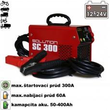 Nabíjač autobatérií so štartérom SC-300