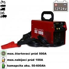 Nabíjač autobatérií so štartérom SC-600