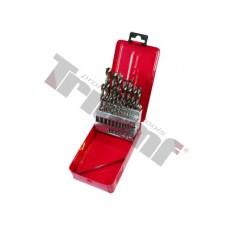 Sada vrtákov HSS vybrusovaných - 1 - 10 mm, 19 - dielna