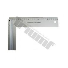 Hliníkový uholník  - 250 mm