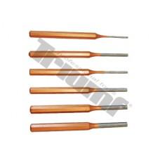 Sada vyrážačov 3 - 8 mm, 6 - dielna
