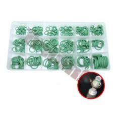 """Gumové """"O"""" krúžky do klimatizácií zelené,270 ks"""