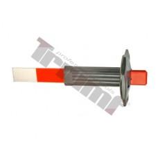Plochý-tenký sekáč na karosérie 26/235 mm s gumovou ochranou