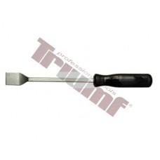 Odstraňovač tesnení, plochý extra pevný driek, dĺžka 240 mm