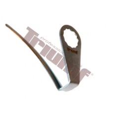 Náhradný nôž 90 mm, zahnutý