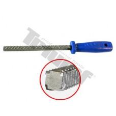Pilník štvorhranný na brzdové strmene 270 mm (4 rezné hrany)