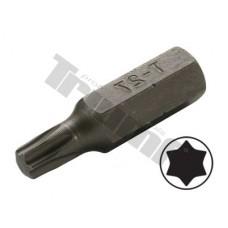 """Bit Torx nevŕtaný, 8 mm (5/16"""") driek, dĺžka 30 mm - T27"""