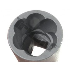 "Hlavica  na poškodené skrutky  3/8"" vstup - 14 mm"