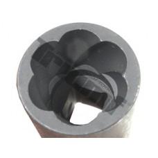 "Hlavica  na poškodené skrutky  3/8"" vstup - 17 mm"