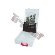 Sada vrtákov HSS, vybrusované - 1 - 10 mm, 19 - dielna