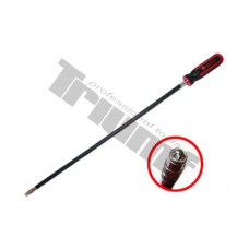 """flexibilný skrutkovač s 1/4"""" vnút. 6-hr., extra dlhý 500 mm"""
