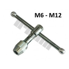 Extra pevný držiak na závitníky - M6 - M12, L = 115 mm